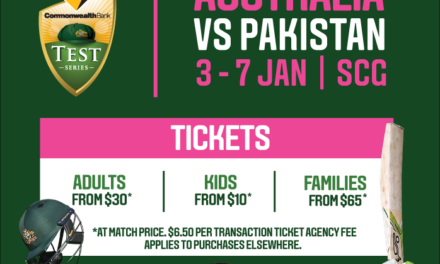 Aussies take on Pakistan in the Commonwealth Bank Pink Test: Get your tickets now