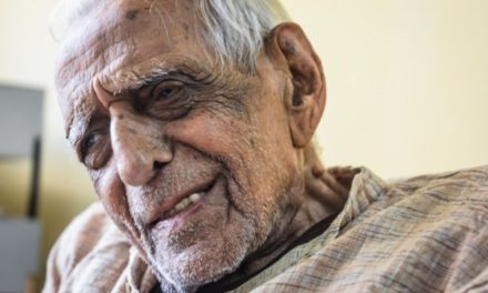 The 98-year-old freedom fighter still battling for his idea of India