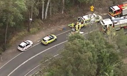 Motorbike rider airlifted to hospital in critical condition after crash near Sunshine Coast