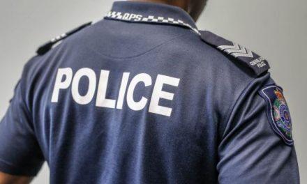 Armed robber crashes motorbike during getaway in Brisbane's north