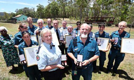 Ravenshoe cafe blast hero paramedics given Meritorious Service Awards