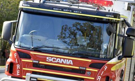 Fire ablaze in Grogan Road, Morayfield