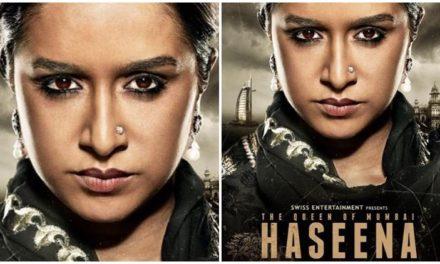 Haseena first look: Shraddha Kapoor stuns as Dawood Ibrahim's sister.