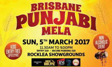Punjabi Mela on March 5 at Rocklea Showgrounds