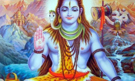 Lord Shiva, by Dr. Arundhati Hoskeri