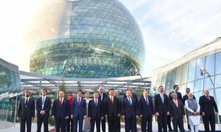 Modi in Astana – India joins SCO