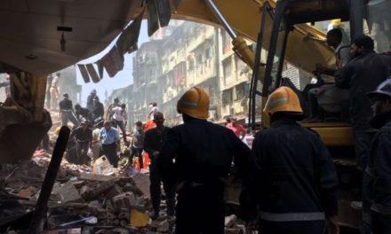 Six storey building in Mumbai collapse kills 33