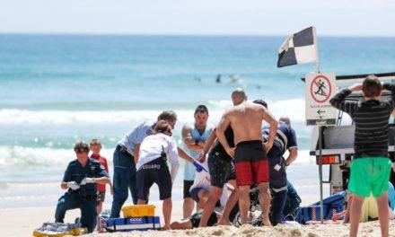 Man, 79, critical after collapsing at Coolangatta beach