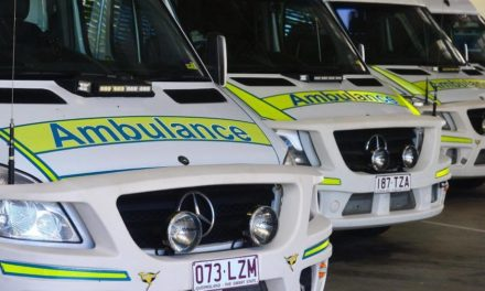 Man to hospital after landing on sharp object on Gold Coast worksite