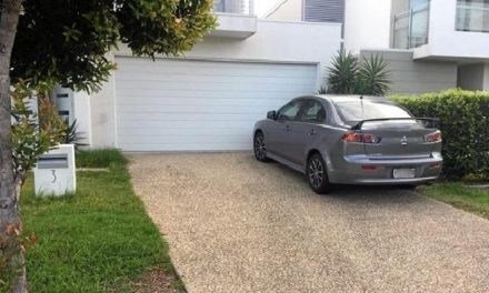Sunshine Coast driver fined $94 for parking on driveway over boundary