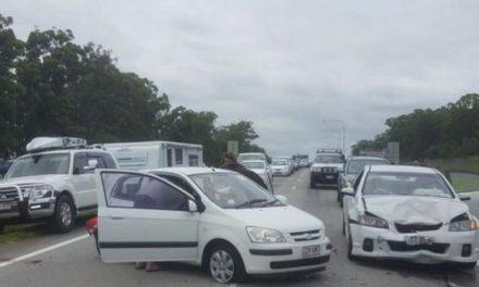 Queensland traffic: Major crash at notorious Bruce Highway blackspot