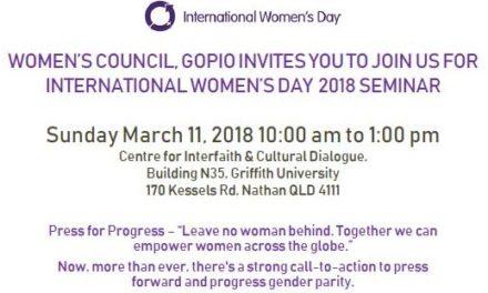 International Women's Day Seminar 2018