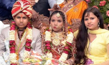India woman held for 'posing' as groom for a dowry