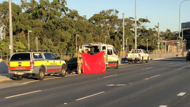 Man trapped under Gold Coast Light Rail