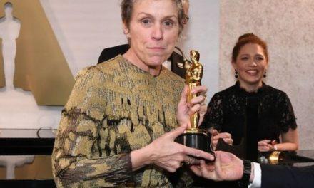 Oscars 2018: Man arrested for theft of Frances McDormand's Oscar