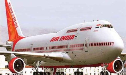 History made by Air India as it lands In Israel using Saudi Airspace