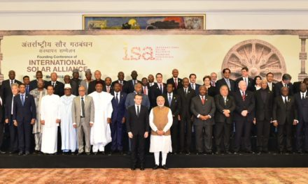 Conference of the International Solar Alliance at New Delhi