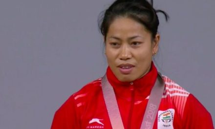 CWG 2018: Another gold for India as Sanjita Chanu wins thrilling women's 53 kg weightlifting final