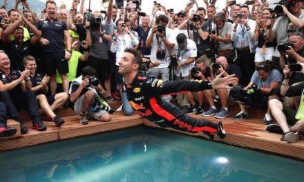 Monaco Grand Prix: Daniel Ricciardo fends off Sebastian Vettel for victory