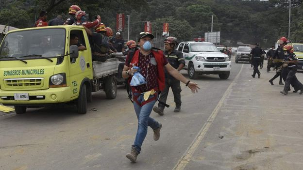 Guatemala volcano: Nearly 200 missing and 75 dead