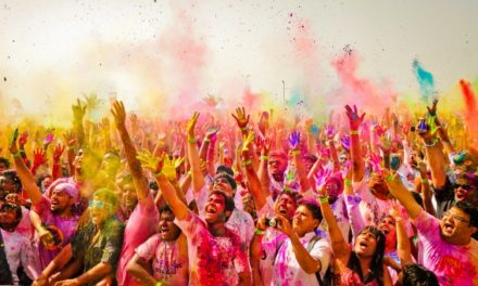 Holi- festival of colours signifies the triumph of good over evil