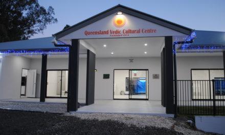 Opening Ceremony of Queensland Vedic Cultural Center