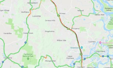 Brisbane motorists stuck in traffic on M1 after highway crash