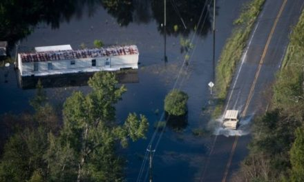 Florence: Two patients dead after van swept away in floods
