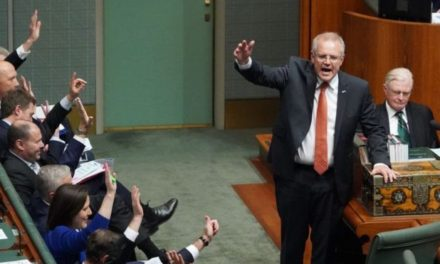 Scott Morrison: Australia PM puts hands up over 'not OK' lyrics