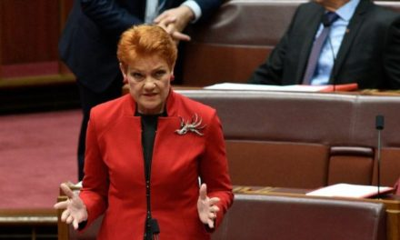 'It's OK to be white' bill defeated in Australian Senate