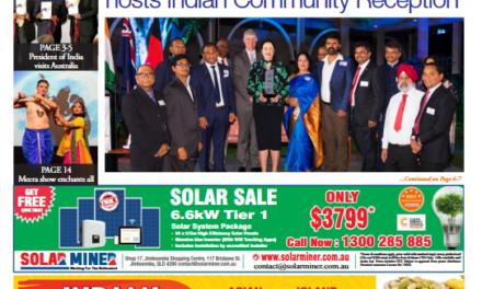 Indian News Queensland – December 2018 Vol 2 Issue 3