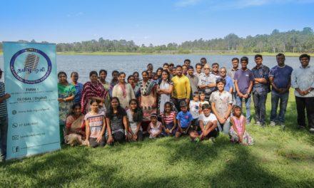 Tamil Oli sets family gathering at serene Bullocky Rest