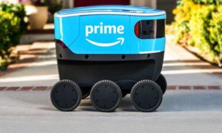 Amazon Scout robots take to pavements in Washington State