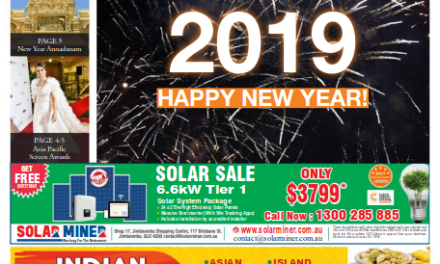 Indian News Queensland – January 2019 Vol 2 Issue 4