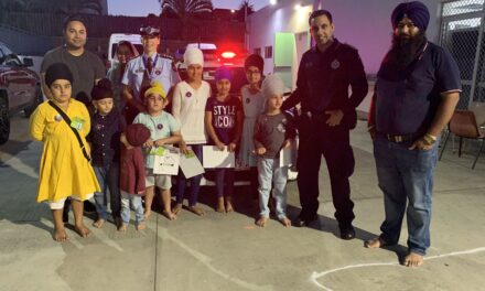 Police Pop Up for Road Safety at Brisbane Sikh Temple