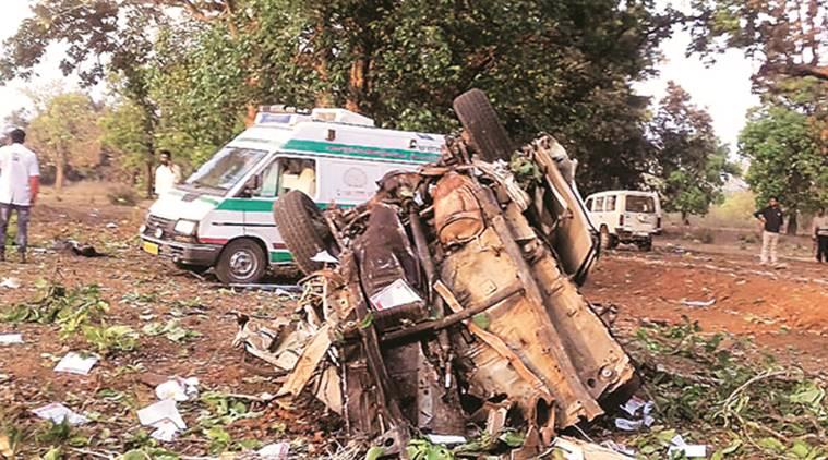 Naxals kill BJP MLA Three Policemen on the last Day of Campaign in Bastar