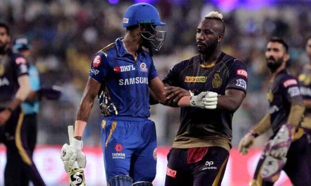 IPL 2019: Andre Russell Power Trumps Hardik Pandya's Blitz as KKR Stay Alive