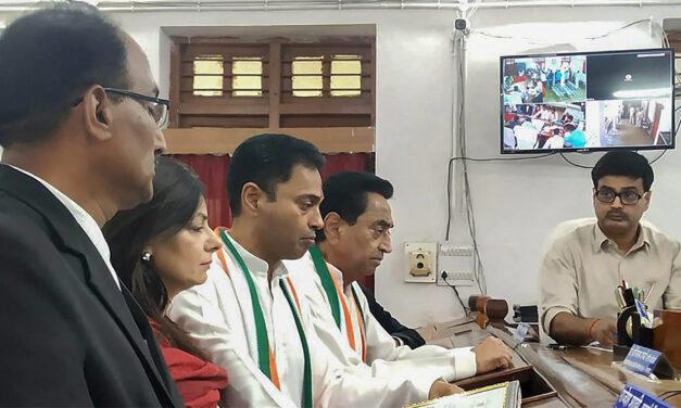 Historic Battle in MP's Chhindwara: Kamal Nath Debuts in Assembly Poll Son Nakul in Lok Sabha Election