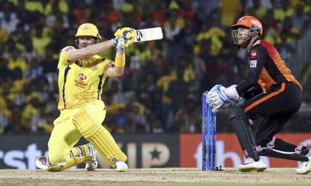 IPL 2019 SRH vs CSK: Shane Watson's Blitzkrieg Takes Chennai Back on Top