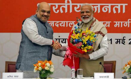 'Together we prosper', Modi says on BJP's stunning victory