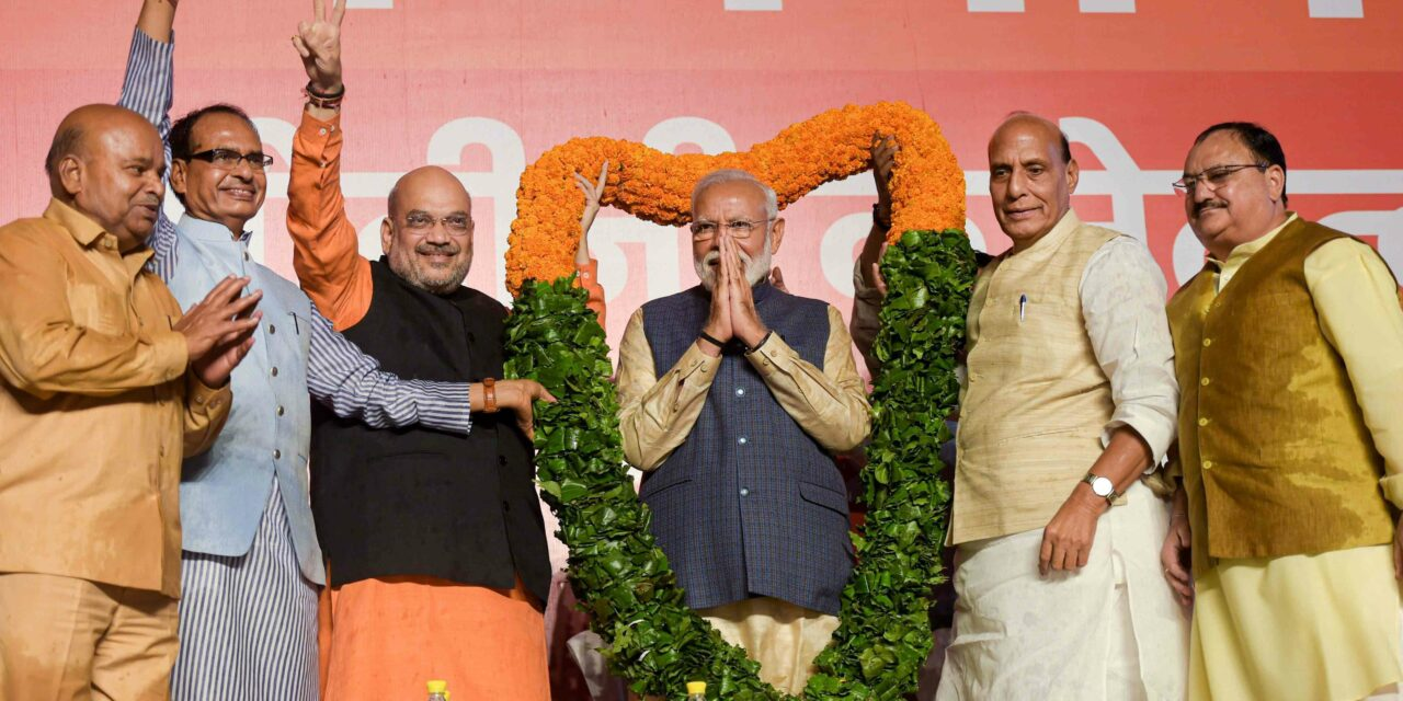 How Modi wave swept India and decimated Opposition