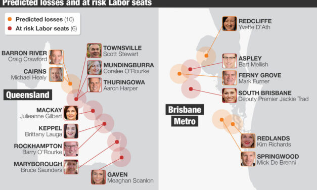 The 16 Seats Most at Risk as Queensland Labor faces Bloodbath at 2020 Election