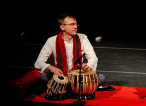 Steve Stiller on tabla
