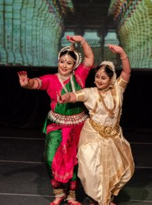 Therma Koshy (left) and Rakhi Anand