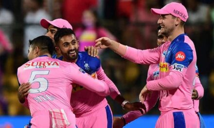 IPL 2019 RCB vs RR: Shreyas Gopal Completes Hat-Trick in Rain-Hit Tie
