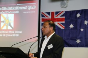 FICQ President Dr Ram Mohan speaking on the occassion