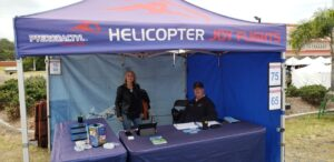 Helicopter ride was on offer for the adventurous ones Courtesy Eid Down Under