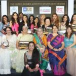 Sudha Manian with other Award winners and orgnanisers