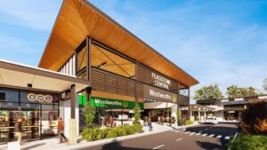 Two Coles and Woolworths' anchored shopping