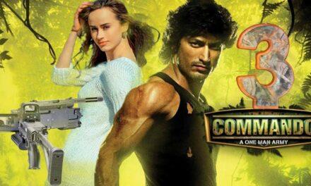 Commando 3 Official Trailer Vidut Jamal